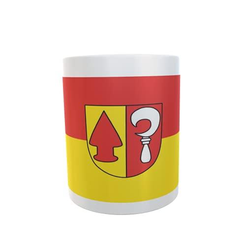 U24 Tasse Kaffeebecher Mug Cup Flagge Friesenheim