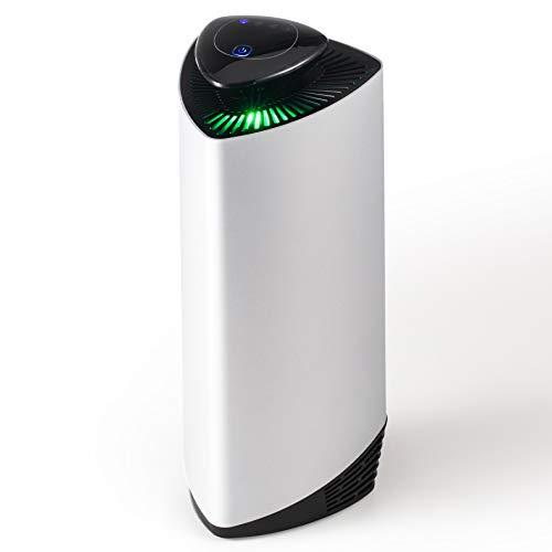 CO-Z Purificador de Aire con Lones Negativos sin Filtro Portátil con USB para Coche Oficina Casa 3 Velocidades Air Purifier para Reducir Bacterias, Virus, PM2.5 y Alérgenos