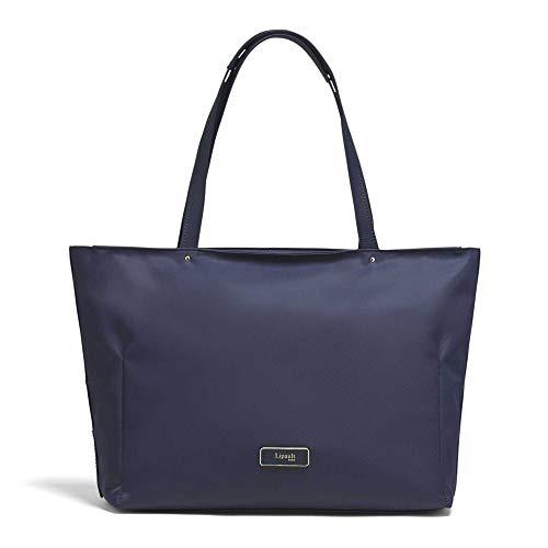 Lipault - Business Avenue Laptop Tote Bag - Top Handle Shoulder Handbag for Women - Night Blue