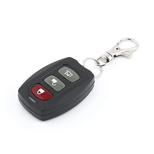 Wireless 3 Tasten Fernbedienung Autoschlüssel Duplicator Frequenzumrichter automatisches Tor Garagentor Keychain LXF-105B