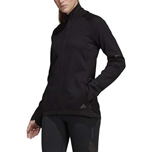 adidas Running Ultra Track Jacket, Black, Small