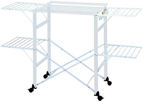 Foppapedretti Gulliver Tendedero, Aluminio, Nylon, De plástico, Alluminio, 9x97x54 cm