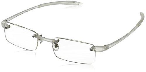 Visualites 1 Reading Glasses,Crystal Frame/Clear Lens,2.00 Strength
