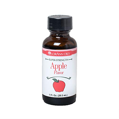 LorAnn Apple Super StrengthFlavor, 1 ounce bottle