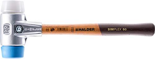 SIMPLEX-Schonhämmer, mit Aluminiumgehäuse und hochwertigem Holzstiel | Ø=40 mm | 3117.040