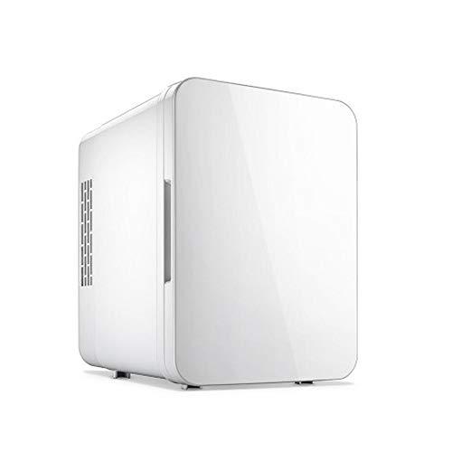 PULLEY Refrigerador portátil para camping, mini refrigerador compacto para fiestas, viajes, picnic al aire libre, camping (tamaño: 24 x 18 x 25 cm) (color: blanco)
