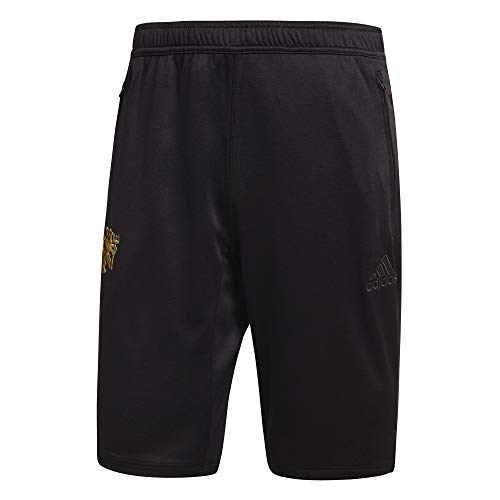 adidas Manchester United FC SSP Short Homme, Noir, XXL