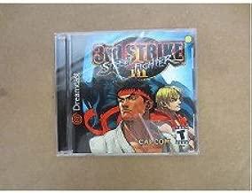 STREET FIGHTER III 3RD STRIKE GAME CAPCOM SEGA DREAMCAST RARE