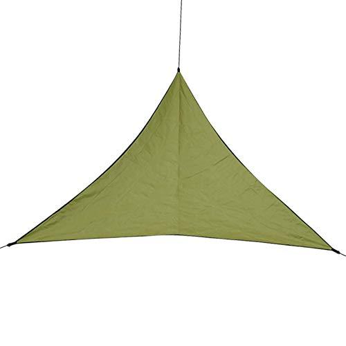 Xhtoe CarpasRed De Combinación De Carpa De Jardín De Tienda De Campa?a Triangular Sunshinecomo Sun Shelter Children Family (Size:400x400x400cm; Color:Army Green)