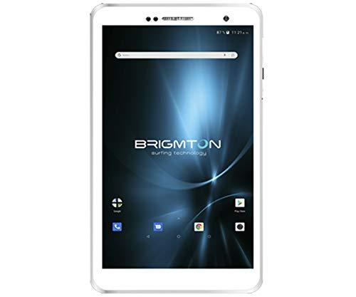 BRIGMTON BTPC-801QC-B Blanco Tablet WiFi 8'' IPS HD/4CORE/16GB/2GB RAM/2MP/0.3MP