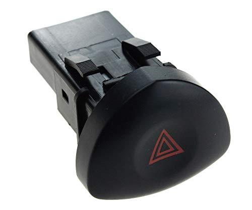 Interruptor de luz de advertencia de peligro de emergencia, 4 pines, compatible con Renault Clio 1998 en adelante 8200442723