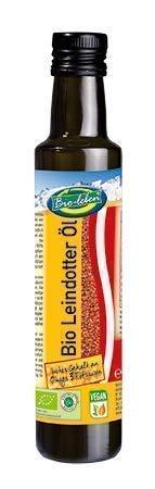 Bio-leben österreichisches Leindotteröl kaltgepresst, extra virgin 250ml, nicht raffiniertes...
