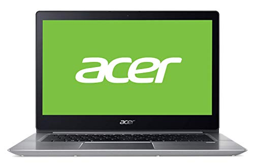 Acer Swift SF314-52-787X - Ordenador Portátil de 14' FullHD  (Intel Core i7-7500U, 8GB RAM, 256GB SDD, Intel HD Graphics, Windows 10); Plateado - Teclado QWERTY Español