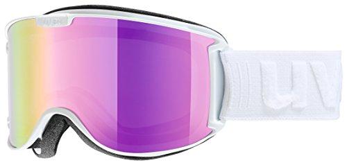 uvex Unisex– Erwachsene, skyper LM Skibrille, white mat, one size