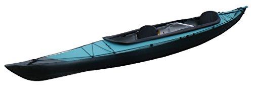 FUJITA CANOE(フジタカヌー) 折りたたみカヌー AL-2-430EGCS ライトグリーン×チャコールグレイ