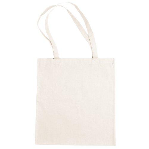 Bags By Jassz- Bolsa de mano/ de la compra de algodón grande (Talla Única/Carne)