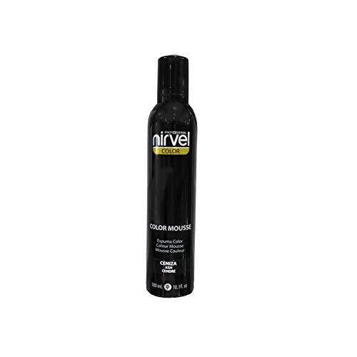 NIRVEL COLOR MOUSSE CENIZA 300 ml