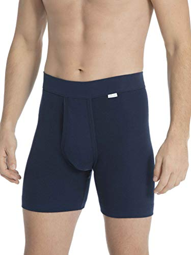 Calida Herren Cotton 1:1 New Boxershorts, Admiral, L