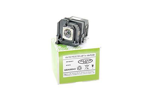 Alda PQ-Premium, Lámpara de proyector para EPSON 585WI, 595WI, Pro 1420WI, Pro 1430WI, EB-1420WI, EB-1430WI, EB-580, EB-585W, EB-585WI, EB-595WI, 580, 585W Proyectores, lámpara con Carcasa