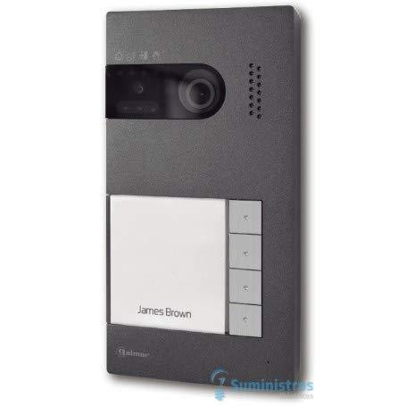 Placa de videoportero Golmar 12225404 4 pulsadores Soul/4