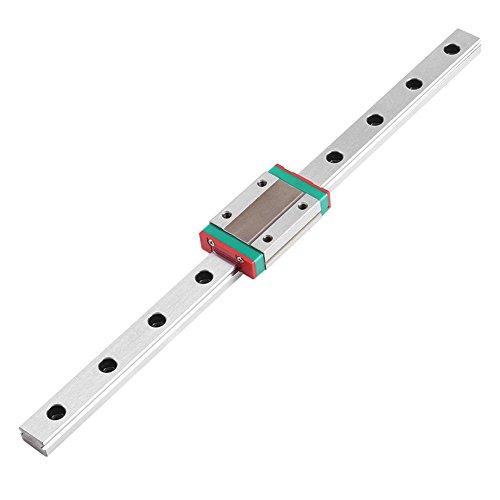 MGN12H Mini Lineare Schienenführung, 250/300/400/500 / 550mm Linear Schiebe Gide mit MGN12H Carriage Block für DIY 3D Drucker und CNC-Maschine(250mm)