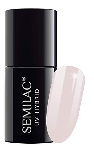 Semilac 002 UV Nagellack Delicate French 1 x 7ml
