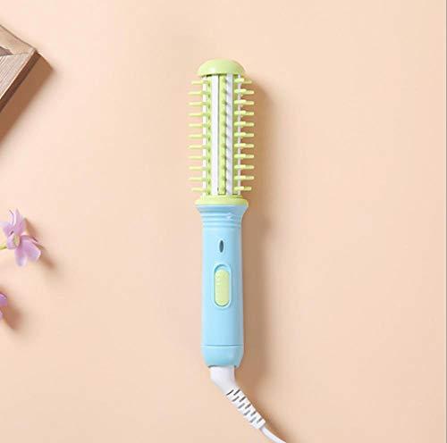 cheveux bouclés Cordon d'alimentation rotatif Bâton de cheveux bouclés Appareil de soins personnels Dames Outils de beauté-Bleu vert