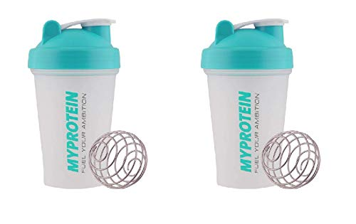 MyProtein Active Mini Shaker Bottle, Pack of 2