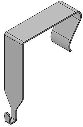 High Strength Office Cubicle Whiteboard Hanger-Narrow Hook! (1 Pair)