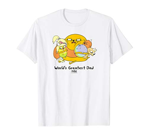 Adventure Time World's Greatest Dad T-Shirt