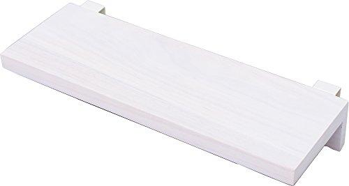 オスマック すのこに掛けられる家具 棚 ホワイト 35cm KT-2W 1コ入