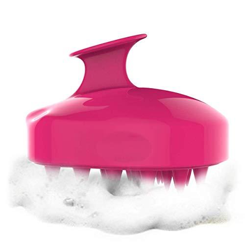 Hair Scalp Massager Shampoo Brush, Scalp Care Brush-Red