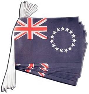 Flaggfrites flaggkedja Cook-öar, längd 5,9 m