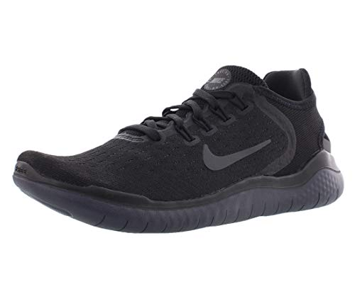 Nike Womens Flex 2017 Rn Low Top Slip On Running, Black/Anthracite, Size 8.5