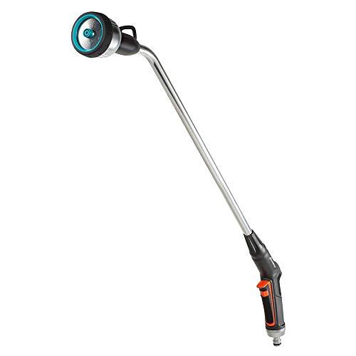 GARDENA Premium 18336-20 - Fusil de riego, robusta ducha de jardín para regar y limpiar, 3 tipos de chorro, manejo con una mano, largo 90cm