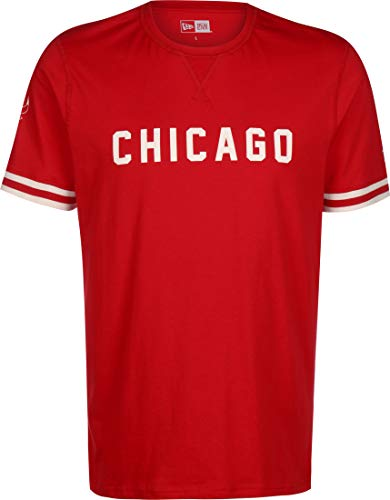 New Era NBA Wordmark Chicago Bulls T-Shirt Herren rot, L