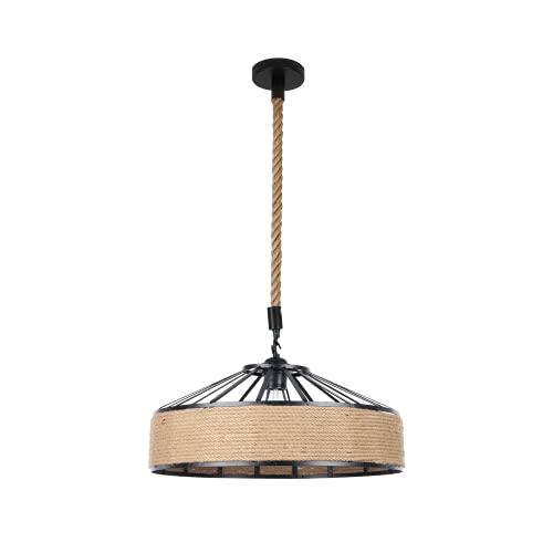 BEL AIR HOME - Lámpara colgante serie Palma 1xE27 30 cm Diámetro