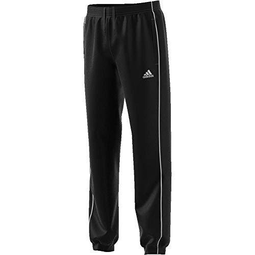 adidas Jungen Jogger Hosen Core Pants 18, Schwarz-Weiss, EU 176