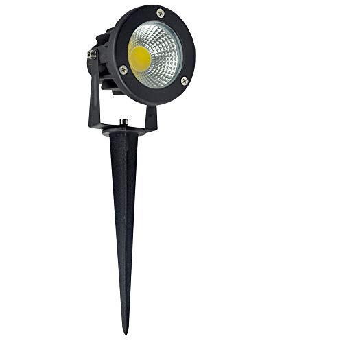 LED Gartenstrahler YUNRUX Pflanzenstrahler Innen-/ und Außen Bodenleuchte Erdspieß Leuchte lampe Wegbeleuchtung Rasenlicht Gartenleuchte Gartenbeleuchtung Gartenlicht Gartenspiess Gartenlampe 5W