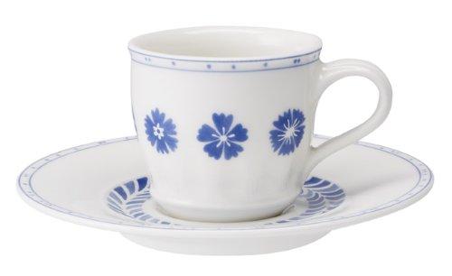 Villeroy & Boch Espressotasse mU FARMHOUSE TOUCH BLUEFLOWERS Villeroy & Boch