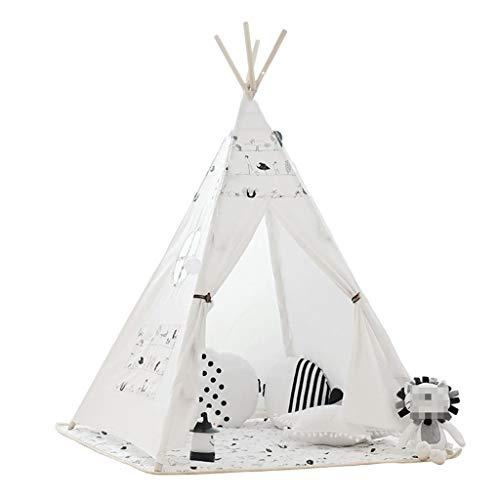 Pkfinrd Indoor Game House, Kind Jongens En Meisjes Tent Huishoudelijke Doek Art Baby Lezen Hoek Kinderkamer Bed Tent 120 * 120 * 160CM