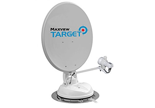 Maxview Target 85cm MXL017 Twin LNB Automatic Mounted Satellite Dish