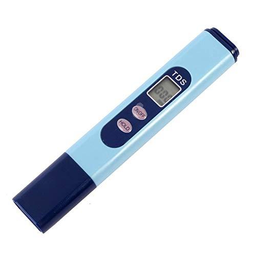 Shentesel TDS-Tester mit LCD-Digitalanzeige, Reinheitsfilter, Wasserqualität, Teststift – Blau