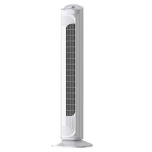 Airvention Turmventilator FZ09, 82cm, sehr leise, 90° oszillierender Ventilator, Standventilator 0,04 kWh energiesparend, 3 Geschwindigkeiten, Tower Fan, cool air im Schlafzimmer und der Wohnung