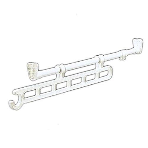アイリスオーヤマ ハンガー スライド 押入れ 奥行65~110cm ホワイト RH-65