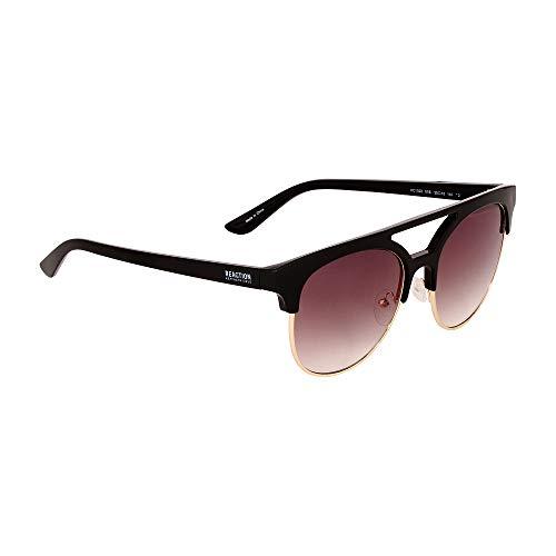 Kenneth Cole Reaction Men's Plastic Gradient Square Sunglasses