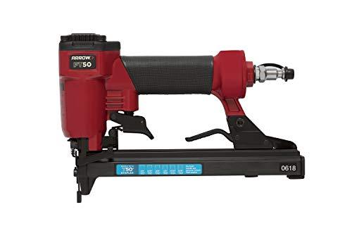 Arrow 0160442 - Grapadora neumática pt50, color rojo