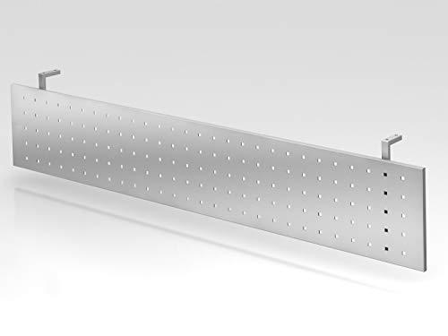 Sichtblende H=40cm 200cm Silber