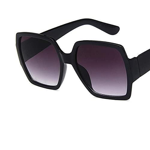 YSJJBTS Vasos Decorativos Diseñador Gafas de Sol para Mujer 2021 Tendencia Vintage Gafas de Sol para Mujeres Nuevas Gafas de Sol cuadradas Retro Femeninas Sombras Frescas