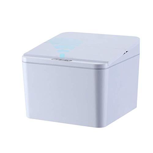 MotBach Sensor de residuos Inteligentes Sensor sin Contacto Dustbin Automático Big USB Recargable Cocina Inodoro Basura de Inodoro Puede Adultos Papeles DE Basura DE Apertura